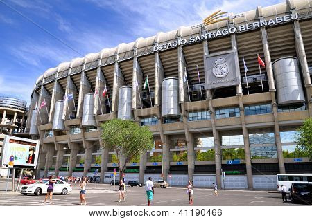 Santiago Bernabeu Stadium of Real Madrid
