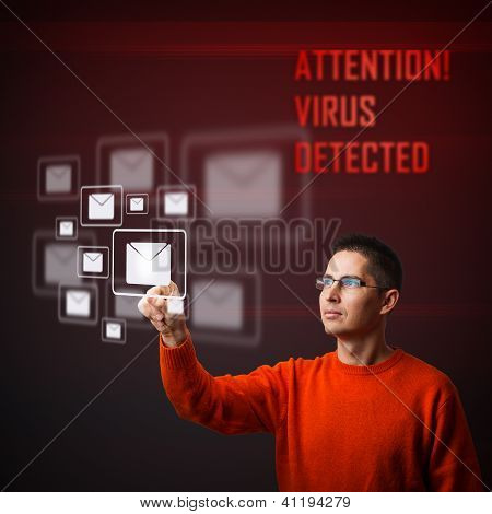 Virus Warning Message