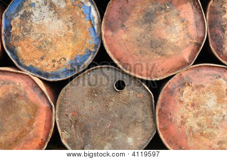 Rusty Drums Background