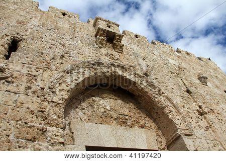 Zion Gate , Jerusalem, Israel