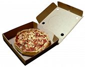 Pizza In Open Box 2008