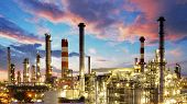 stock photo of refinery  - Oil and gas industry  - JPG