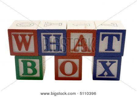 What Box