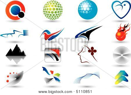 Set Of Abstract Elements For Design