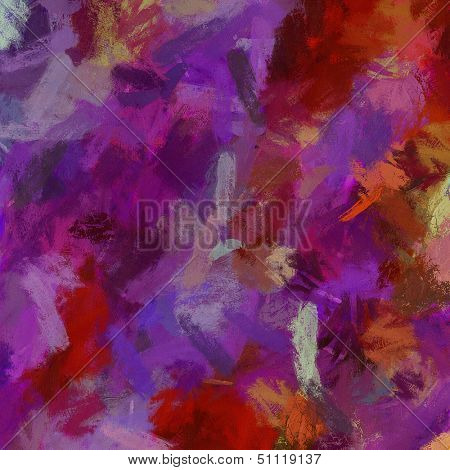 Computer designed impressionist style vintage texture or background