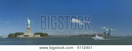 Standbeeld van Liberty Panorama