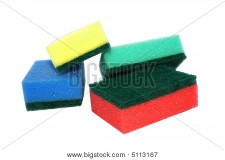 Colored Sponges