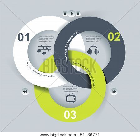 User Interface Template. Vector Illustration. Eps 10.