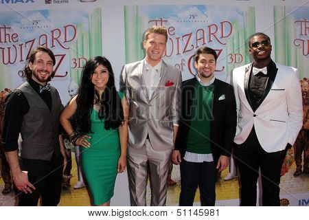 LOS ANGELES - SEP 15:  Pentatonix at the