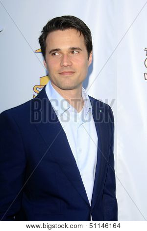 LOS ANGELES - JUN 26:  Brett Dalton arrives at the 39th Annual Saturn Awards at the Castaways on June 26, 2013 in Burbank, CA