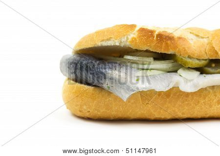 Baguette With Fish