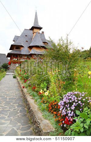 Barsana Wooden Monasteries,Maramures, Romania
