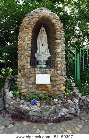 Tomsk, A Grotto To The Virgin Mary Of Fatima