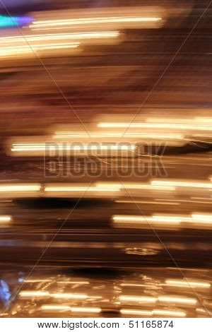 Vertical Blur of Lights