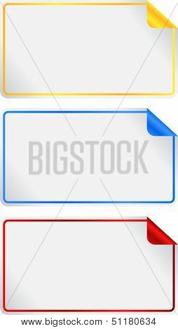 Blank Label Tags