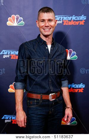 NEW YORK-SEP 18: Country singer Jimmy Rose at the post-show red carpet of