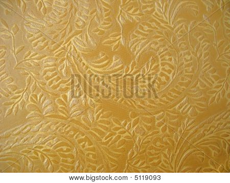 Floral Upholstery Fabric Background