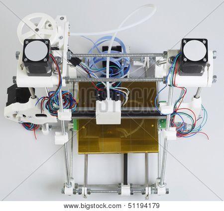 Open Source 3D Printer Top View
