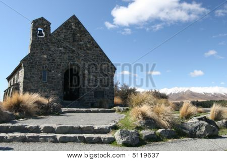 Church Of The Good Shepherd Lake Tekapo - New Zealand