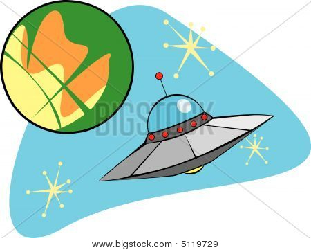 Flying Saucer From Mars