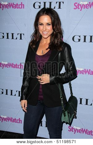 LOS ANGELES - SEP 19:  Lacey Chabert at the People Stylewatch Hollywood Denim Partyy at Palihouse on September 19, 2013 in West Hollywood, CA