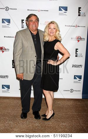 LOS ANGELES - SEP 19:  Dan Lauria, Barbara Niven at the Heller Awards 2013 at Beverly Hilton Hotel on September 19, 2013 in Beverly Hills, CA