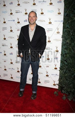LOS ANGELES - SEP 20:  Tony Hale at the Emmys Performers Nominee Reception at  Pacific Design Center on September 20, 2013 in West Hollywood, CA