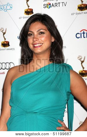 LOS ANGELES - SEP 20:  Morena Baccarin at the Emmys Performers Nominee Reception at  Pacific Design Center on September 20, 2013 in West Hollywood, CA