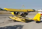 image of ultralight  - Ultralight airplane chartered for adventure flying experience - JPG