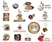 stock photo of latte  - Coffee and Tea - JPG