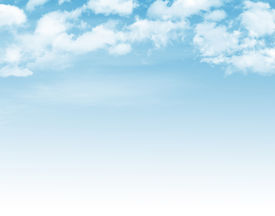 picture of spring-weather  - Blue sky with clouds background - JPG