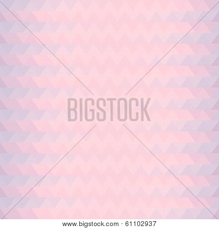 Pink Triangles Zigzaz Pattern