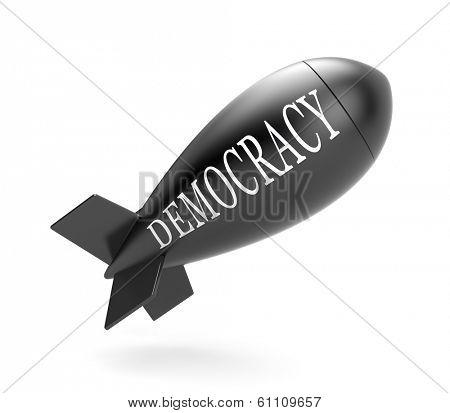 Bomb with democracy