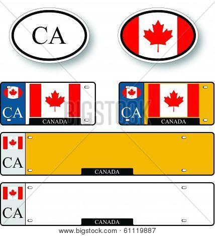 Canada Auto Set
