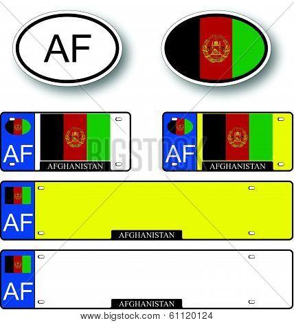 Afghanistan Auto Set