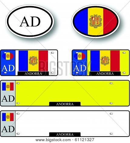 Andorra Auto Set