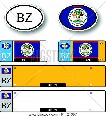Belize Auto Set