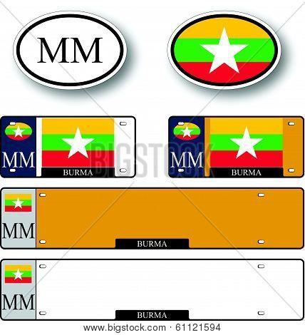Burma Auto Set