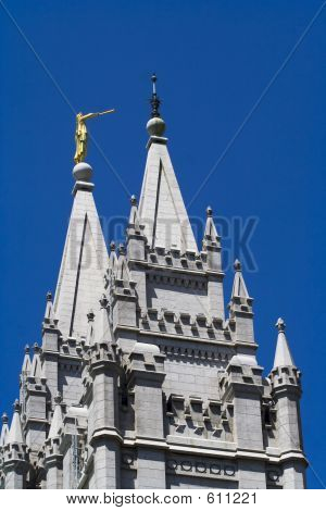 Salt Lake Temple Towers