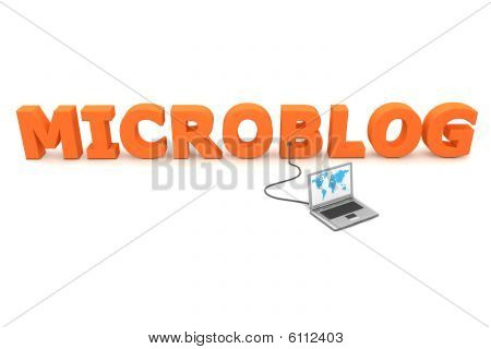 Wired To Microblog - Orange
