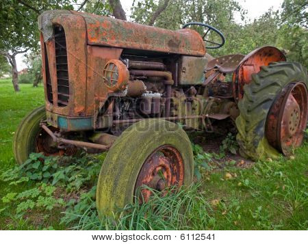 Old Vintage Tractor