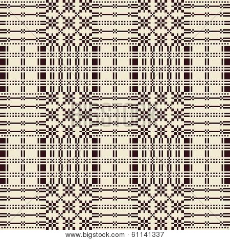 Vector illustration of ukrainian folk seamless pattern ornament. Ethnic ornament