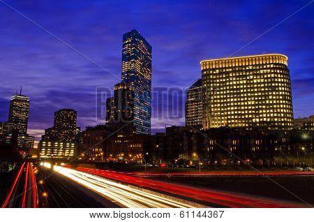 Boston and the Massachusetts Pike