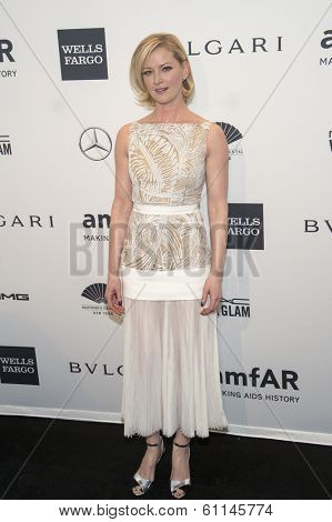 NEW YORK-FEB 5: Actress Gretchen Mol attends the 2014 amfAR New York Gala at Cipriani Wall Street on February 5, 2014 in New York City.