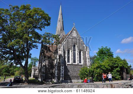 anglican church in copenhagen, denmark