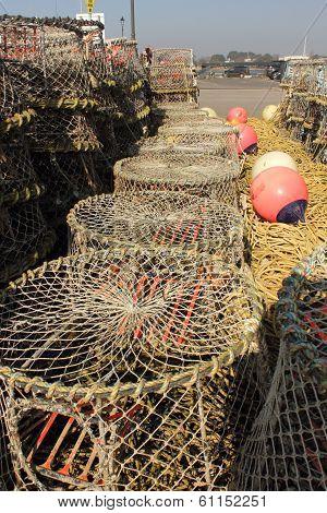 Lobster and crab pots