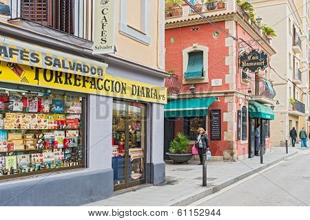 Can Ramonet Restaurant In Barcelona Spain