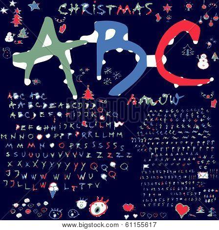 Alphabet  /Winter/