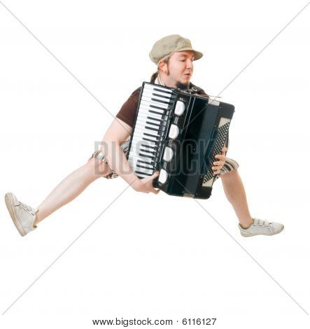 Excited Musician