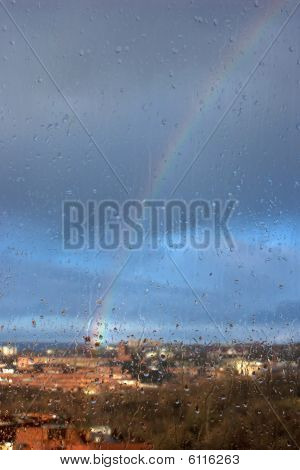 Rainbow Through The Wet Glass